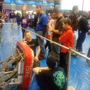 FTC State Championships outreach event