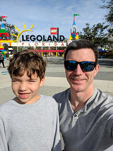 Our Legoland adventure begins