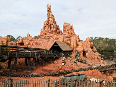 Big Thunder Mountain post ride view