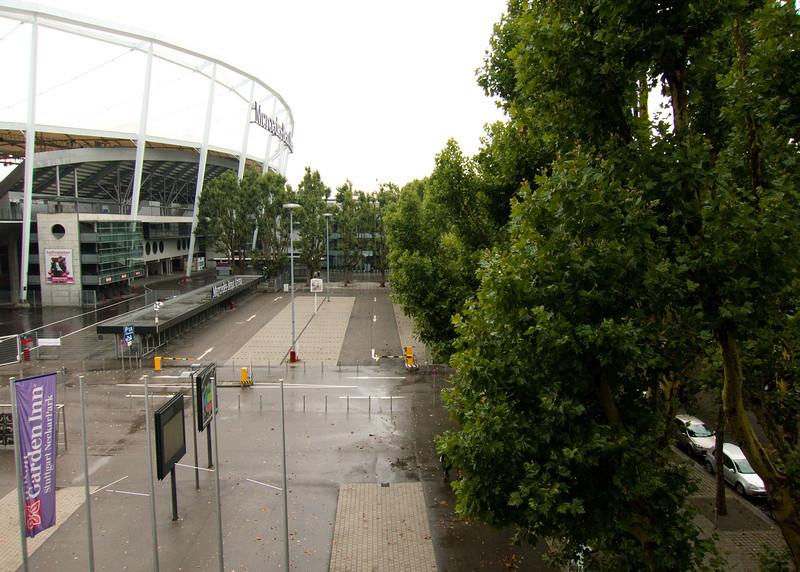 View from my room at Hilton Garden Inn Stuttgart Mercedesstraße 75 70372 Stuttgart, Germany