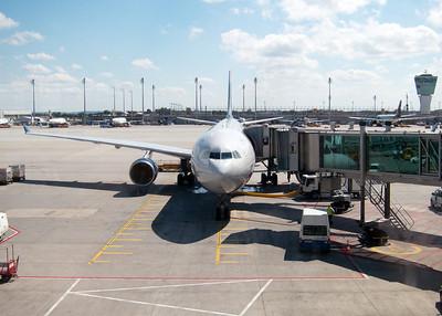 Our A330-200 sitting in Munich