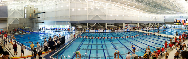 Almost done - the last event, 200 IM, about to start