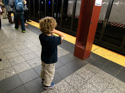 Loves the subway - hates the noise