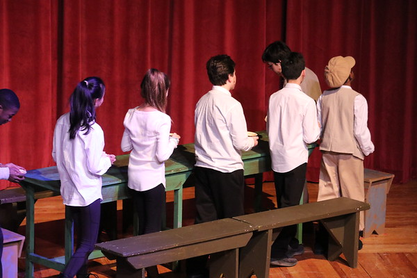 Middle School Play - Oliver Twist