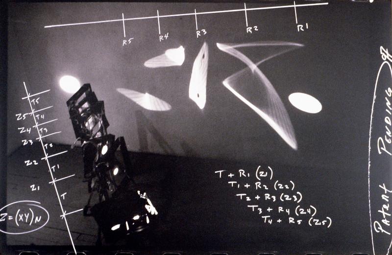 "Pleonastic Calculus. Mounted C-Print 24"" x 36,"" 1997."