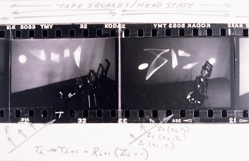 "Pleonastic Machinery. Mounted C-Print 20"" x 30,"" 1997."