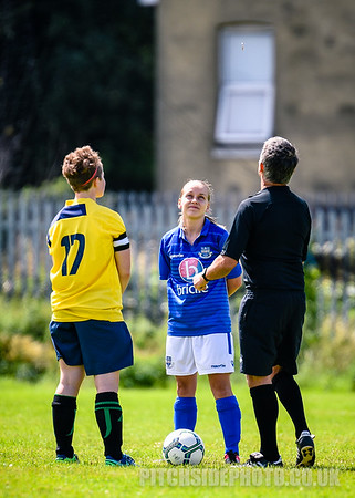 Moneyfields Ladies v Eastleigh Ladies, Pre Season Friendly