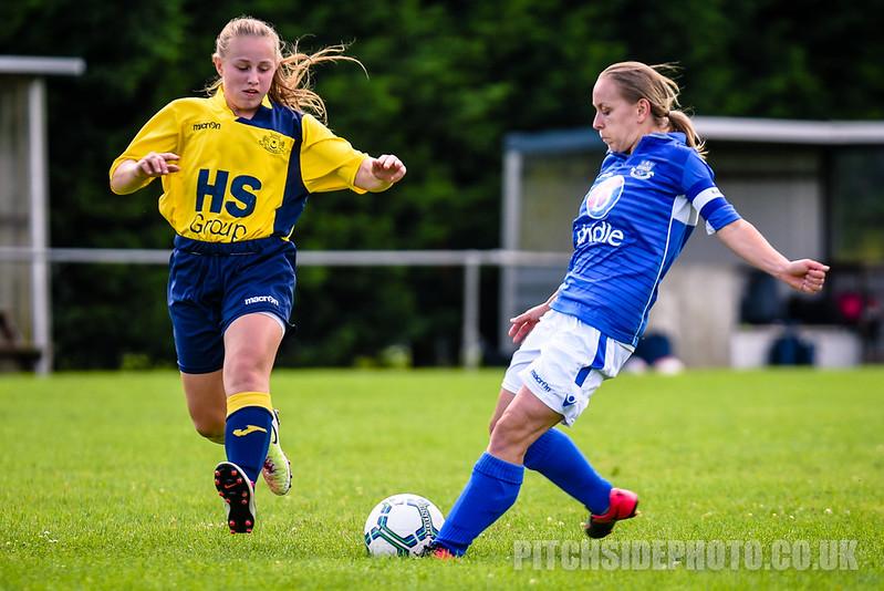 Moneyfields Ladies v Eastleigh Ladies, Pre Season Friendly