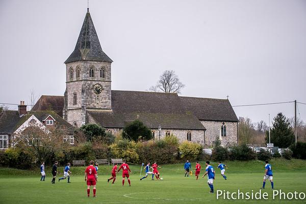 Overton United v Stockbridge - Hampshire Premier League - The Recreation Ground, Overton, Hampshire - November 28th 2015 (Photo by Paul Paxford/Pitchside Photo)