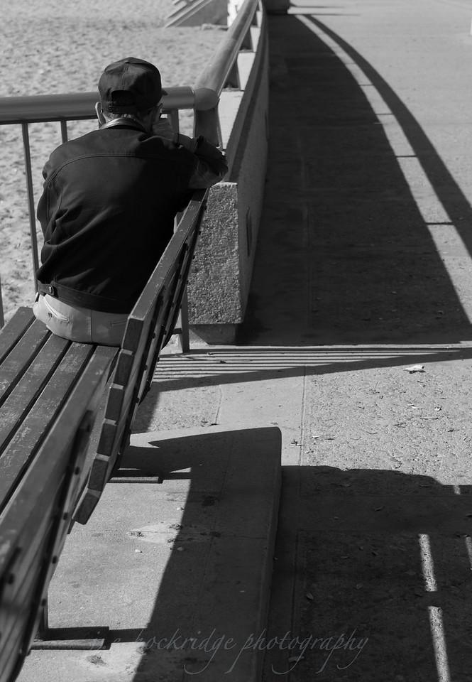 Alone on a Bench, Ventura, CA