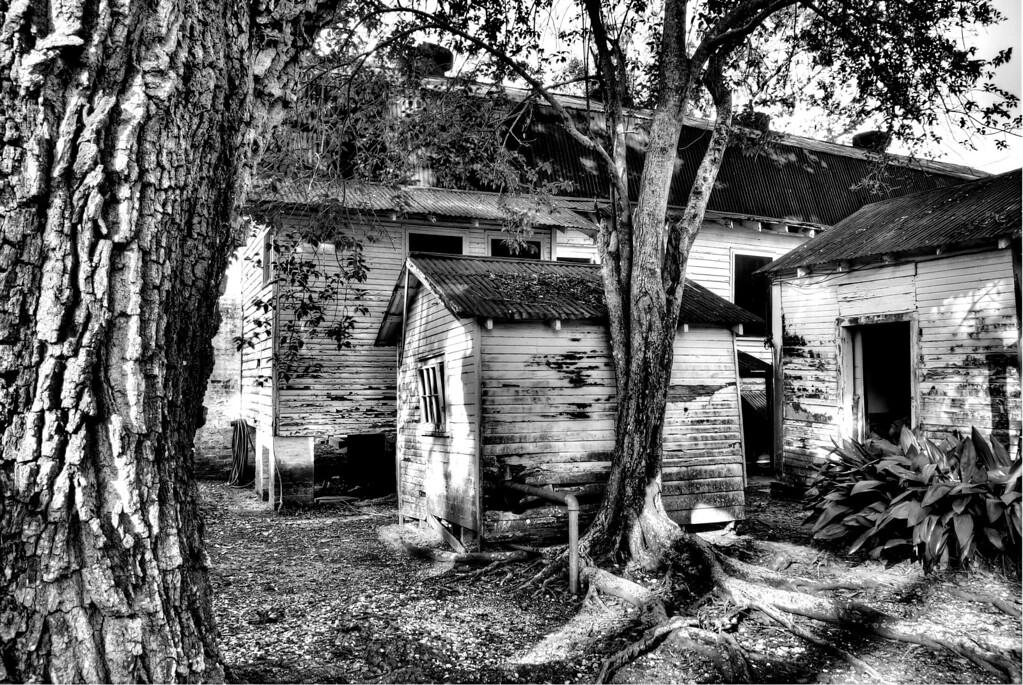Broken Houses, Oak Alley Plantation, Louisiana