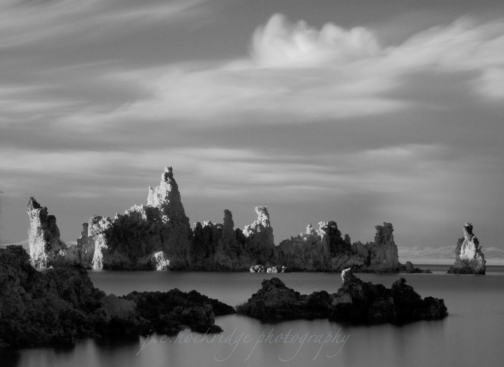 Castle in the Winds, Mono Lake California <br /> Infrared