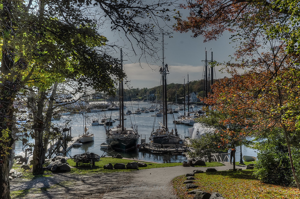 Readying for Winter in Rockland, ME