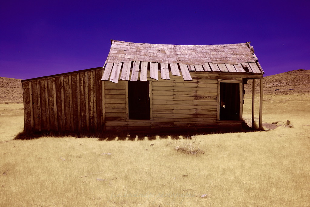 Shack at Bodi, California IR