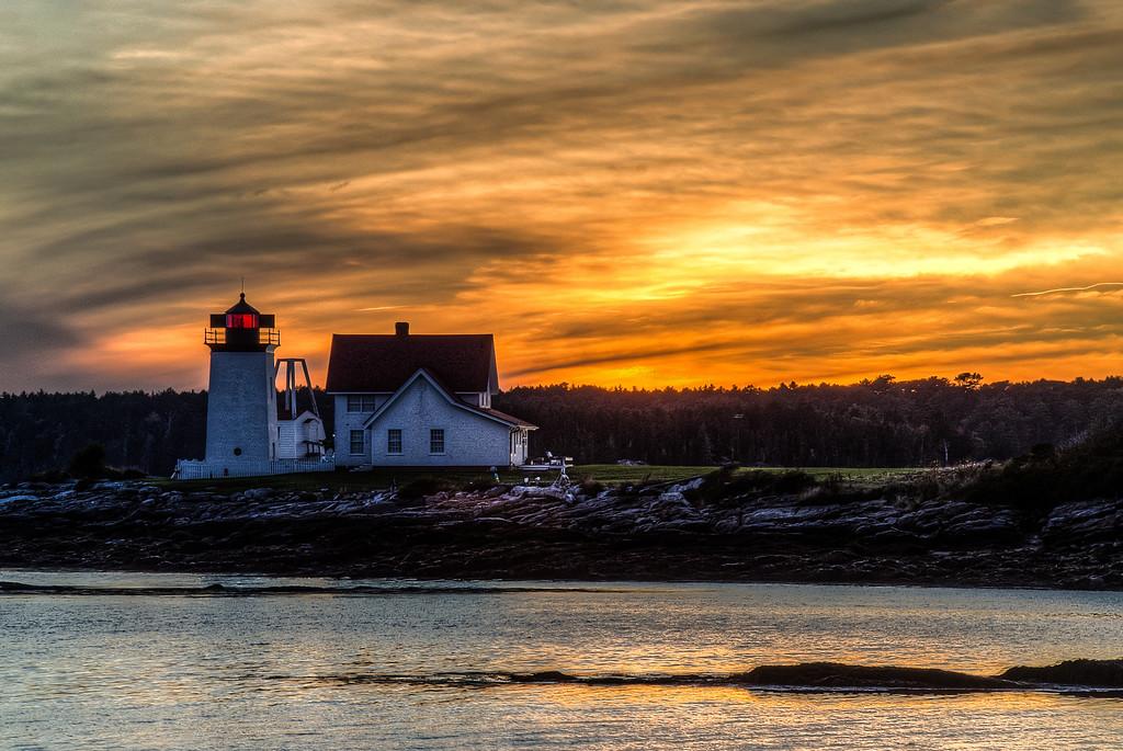 Hendrick's Head Lighthouse, ME