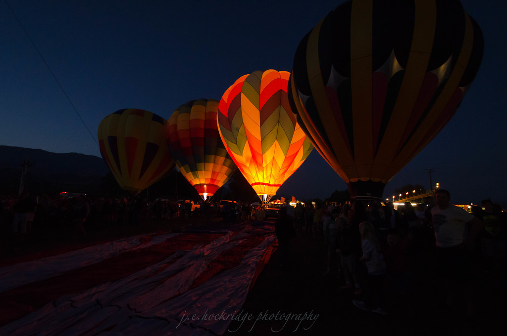 Balloon Glow in Santa Paula