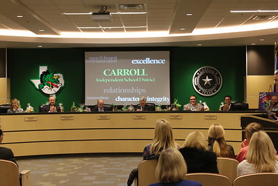 Carroll ISD Board Recognition of CX State Teams - Feb 2 2015