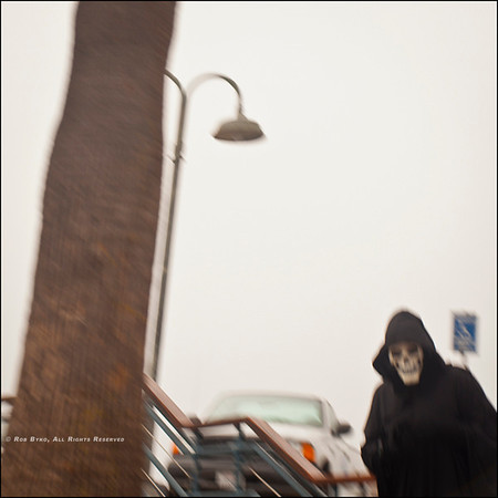 The grim reaper floated by...
