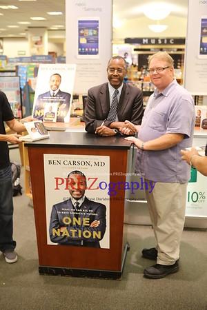 Ben Carson Cedar Rapids Booksigning 2014