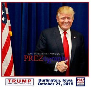 Donald Trump  Burlington VIP 10-21-15