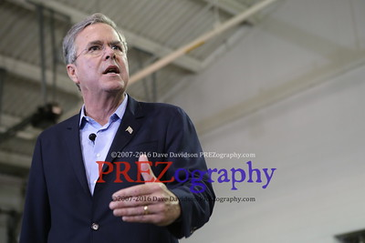 Jeb Bush Veteran's Day Waukee Iowa 11-11-15
