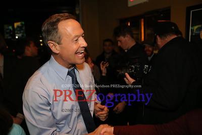 Martin O'Malley Saint's Pub After Debate 11-15-15