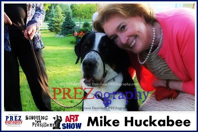 Mike Huckabee  Best of Prezography Art Show