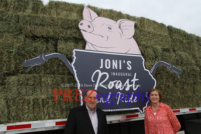 Mike Huckabee Joni Roast Ride 6-6-15