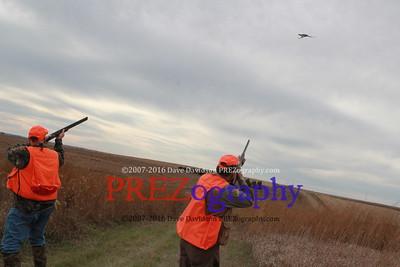 Mike Huckabee Steve King Pheasant Hunt 11-1-15