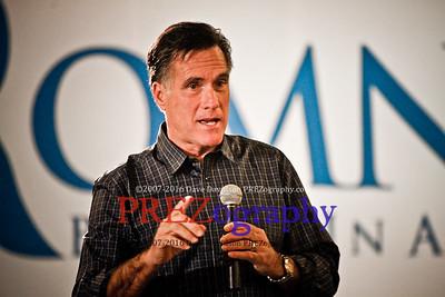 Mitt Romney in Davenport