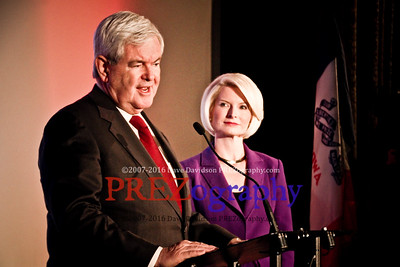 Newt Gingrich at Varsity Theater