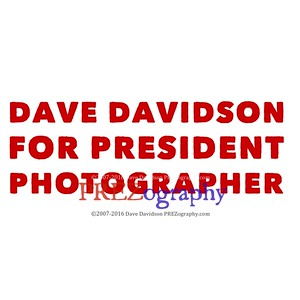 Dave Davidson for President Photographer