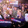 Rick Santorum Caucus Night :