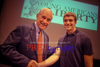 Ron Paul Handshakes & Smiles