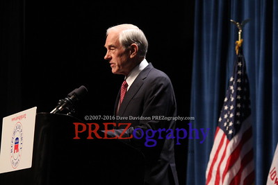 Ron Paul at Reagan Dinner