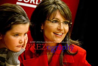 Sarah Palin America By Heart Book Signing