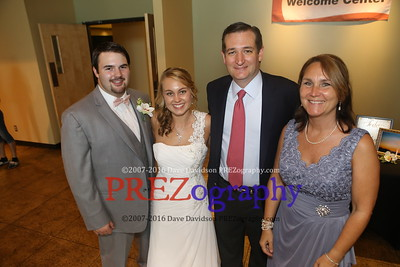 Ted Cruz Cowman Crawford Wedding