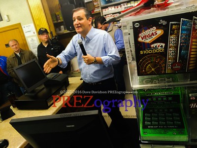 Ted Cruz Van Horn Gas Station 11-29-15