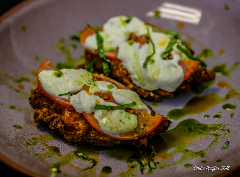 Fried Chicken Caprese