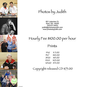 Hourly Price List with Photos