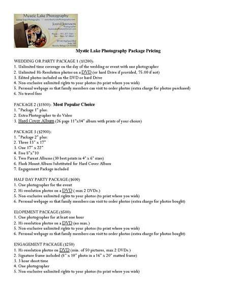 Mystic Lake Photography Service List_Page_1