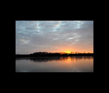 Price Creek Icy Sunrise 1