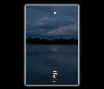 Price Creek full Moon blue