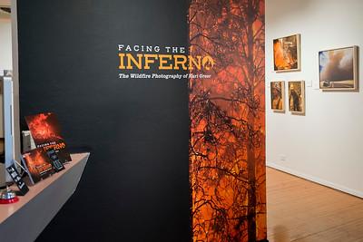 "Prichard Art Gallery ""Facing the Inferno"" (ID, 2018)"