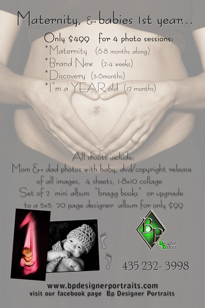 Maternity packages
