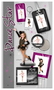 Dance team flyer - front