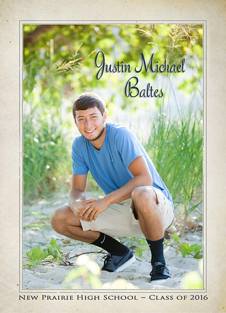 Justin front of invite