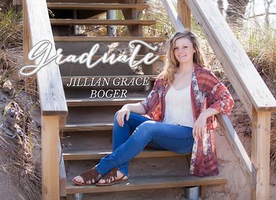 front of invite Jillian