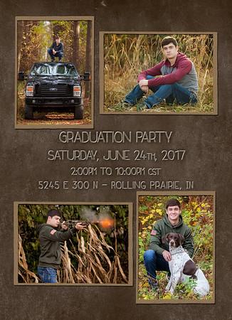 Mason back of invite