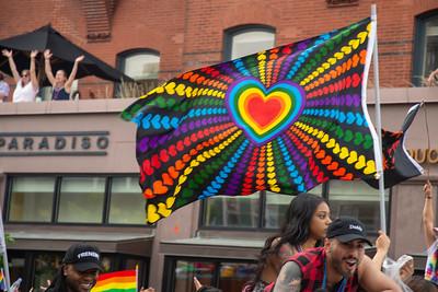 At the DC Pride Parade, June 8 2019